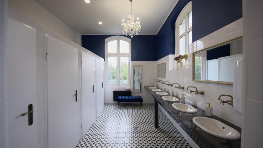 Luksusowa toaleta