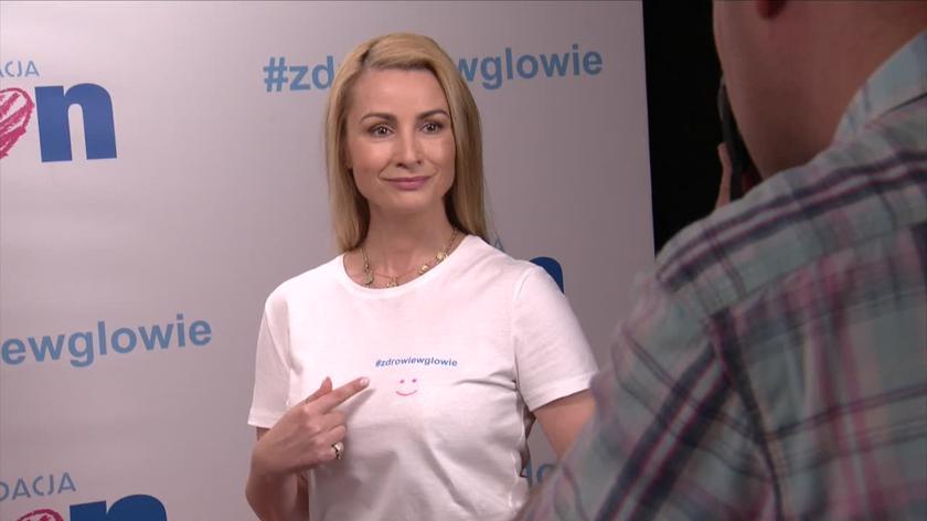 Joanna Brodzik - Fundacja TVN